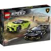 LEGO Speed Champions (76899). Lamborghini Urus ST-X & Lamborghini Huracán Super Trofeo EVO