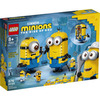 LEGO Minion (75551). Personaggi Minions e la loro tana