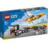 LEGO City Great Vehicles (60289). Trasportatore di jet acrobatico