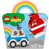 LEGO® DUPLO®: Elicottero antincendio e Auto della polizia (10957)