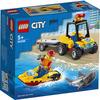 LEGO City Great Vehicles (60286). ATV di soccorso balneare