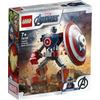 LEGO Super Heroes (76168). Armatura mech di Capitan America