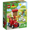 LEGO Duplo Town (10950). Il trattore della fattoria e i suoi animaletti