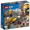 LEGO City 60184 - Bergbauprofis Bergbauteam, Konstruktionsspielzeug