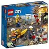 LEGO City - L'équipe minière - 60184 - Jeu de Construction