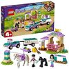 LEGO 41441 Friends Horse Training and Trailer Building Set with Stables and Car, Toy for Kids 4+ Years Old
