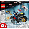 LEGO Marvel Super Heroes - Captain America and Hydra Face-Off (76189)