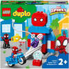 LEGO DUPLO Super Heroes Spider-Man Headquarters Toy for Toddlers (10940)