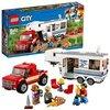 LEGO- City Pickup e Caravan, Multicolore, 60182