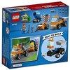 LEGO Juniors 10750 - Straßenbau-Laster, Spielzeug für Jungen und Mädchen