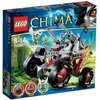 LEGO Legends Of Chima - Playthèmes - 70004 - Jeu de Construction - Le Tout-Terrain Loup de Wakz