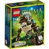 Lego Legends Of Chima- Les Animaux Légendaires - 70125 - Jeu De Construction - Le Gorille Légendaire