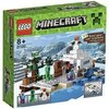 LEGO - 21120 - Minecraft - Jeu de Construction - La Cachette Dans La Neige