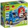 LEGO-Duplo Auto della Polizia Costruzioni Gioco Bambina Giocattolo, Colore Non specificato, 10809