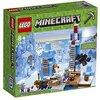 LEGO-Minecraft Le Punte di Ghiaccio, Multicolore, 21131