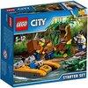 LEGO Jurassic World Jungle Explorers Starter Set della Giungla, Multicolore, 60157