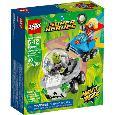 Mighty Micros: Supergirl™ Contro Brainiac™