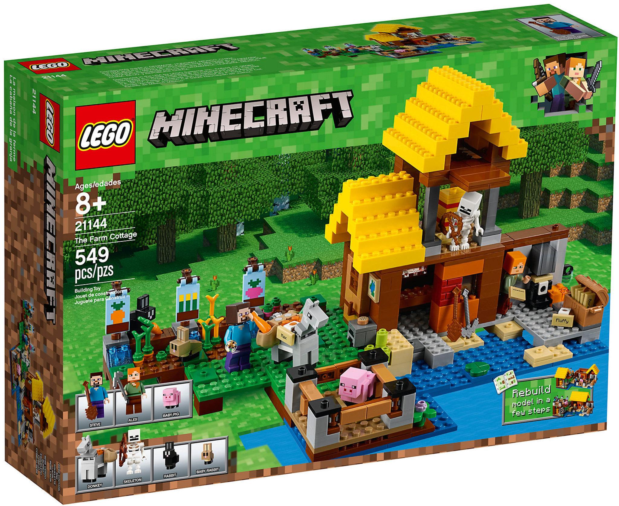 032af15d97194 LEGO Minecraft 21144 - The Farm Cottage | Mattonito