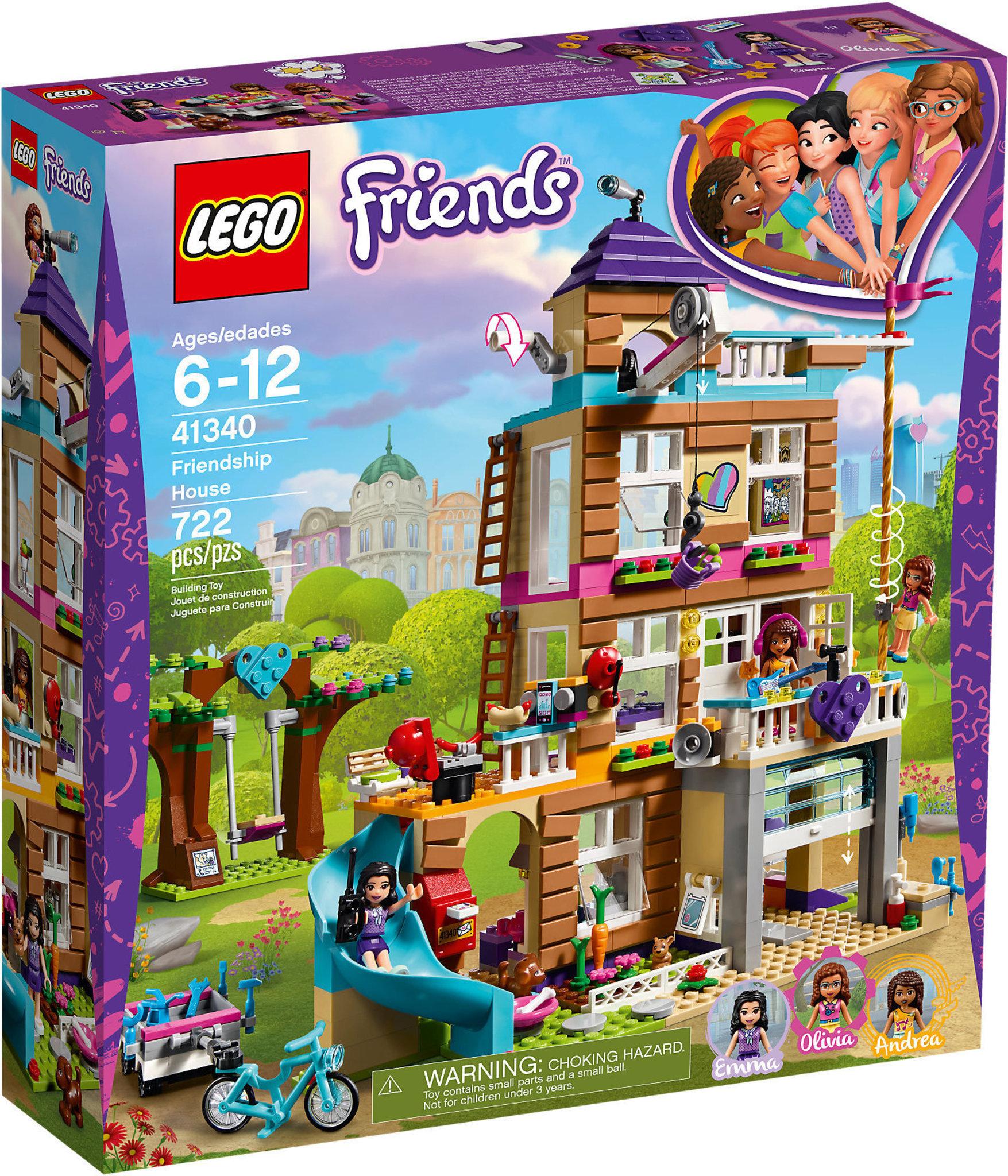 half off buy online best LEGO Friends 41340 - La Casa Dell'amicizia
