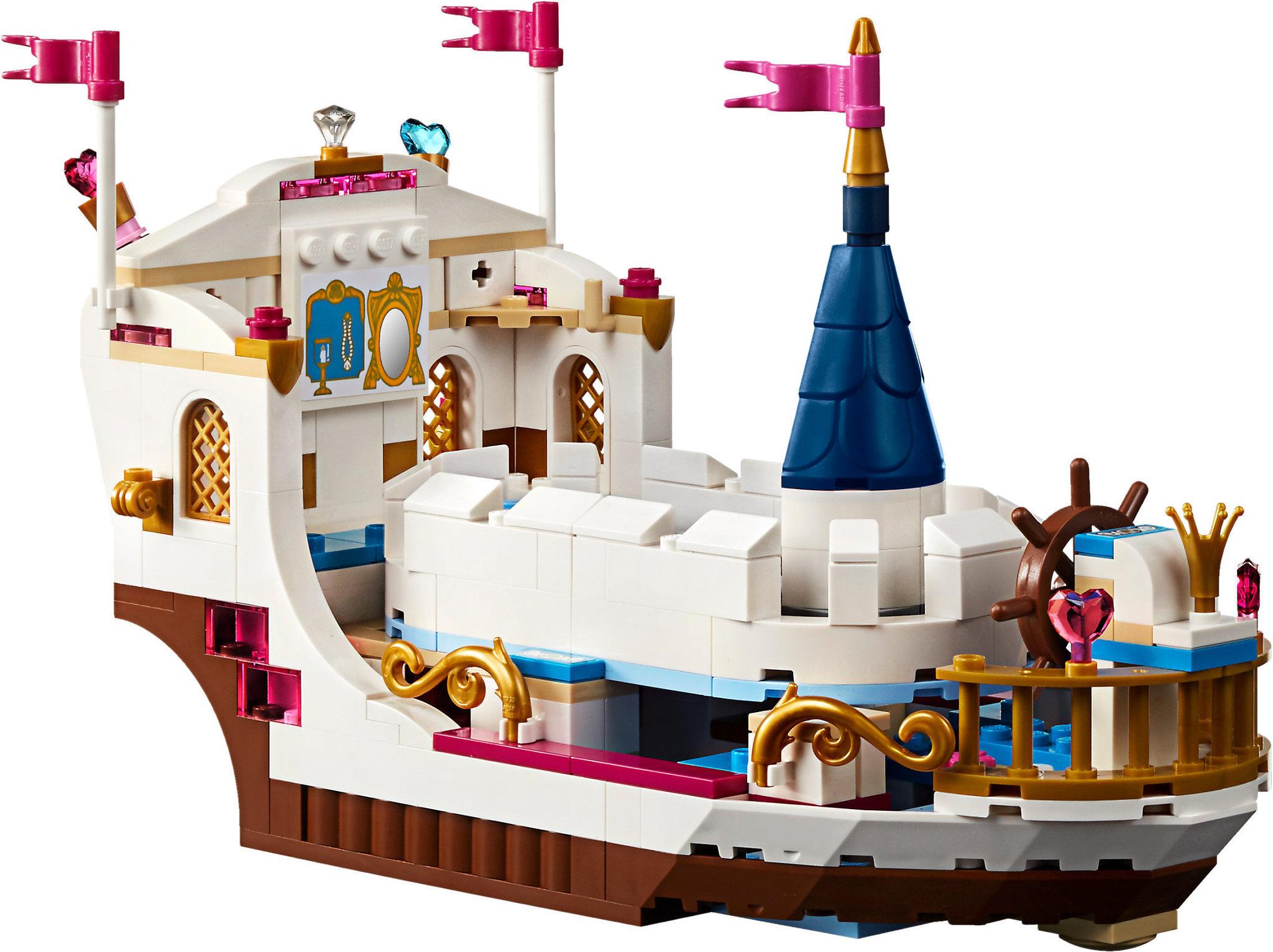 Lego disney 41153 la barca della festa reale di ariel for Prezzi caldaie ariel