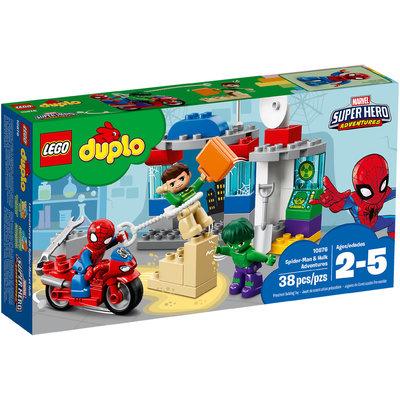 Le Avventure Di Spider Man E Hulk