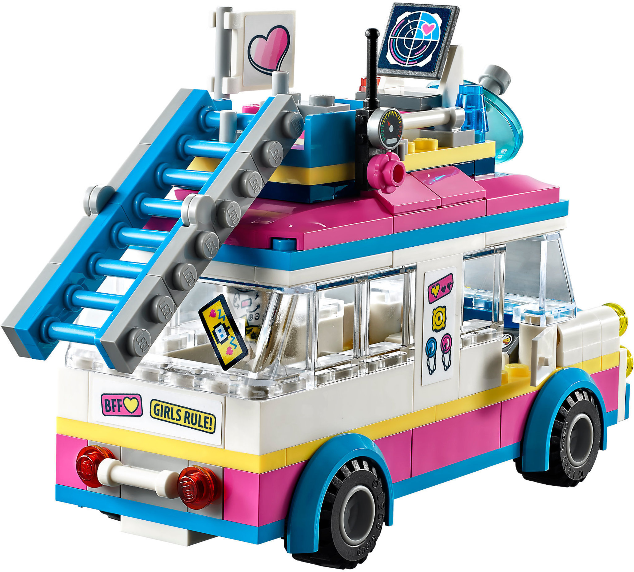 LEGO Friends 41333 - Olivia's Mission Vehicle | Mattonito