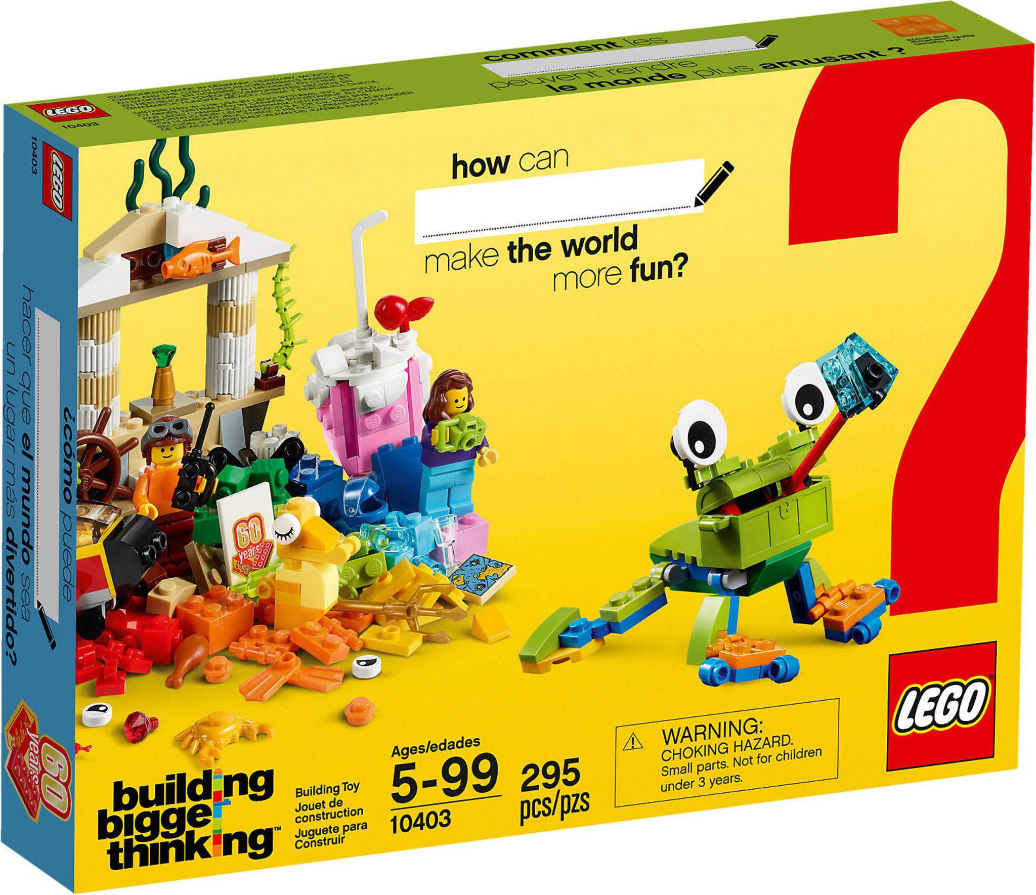 a42e5674fa9c LEGO Classic 10403 - World Fun | Mattonito