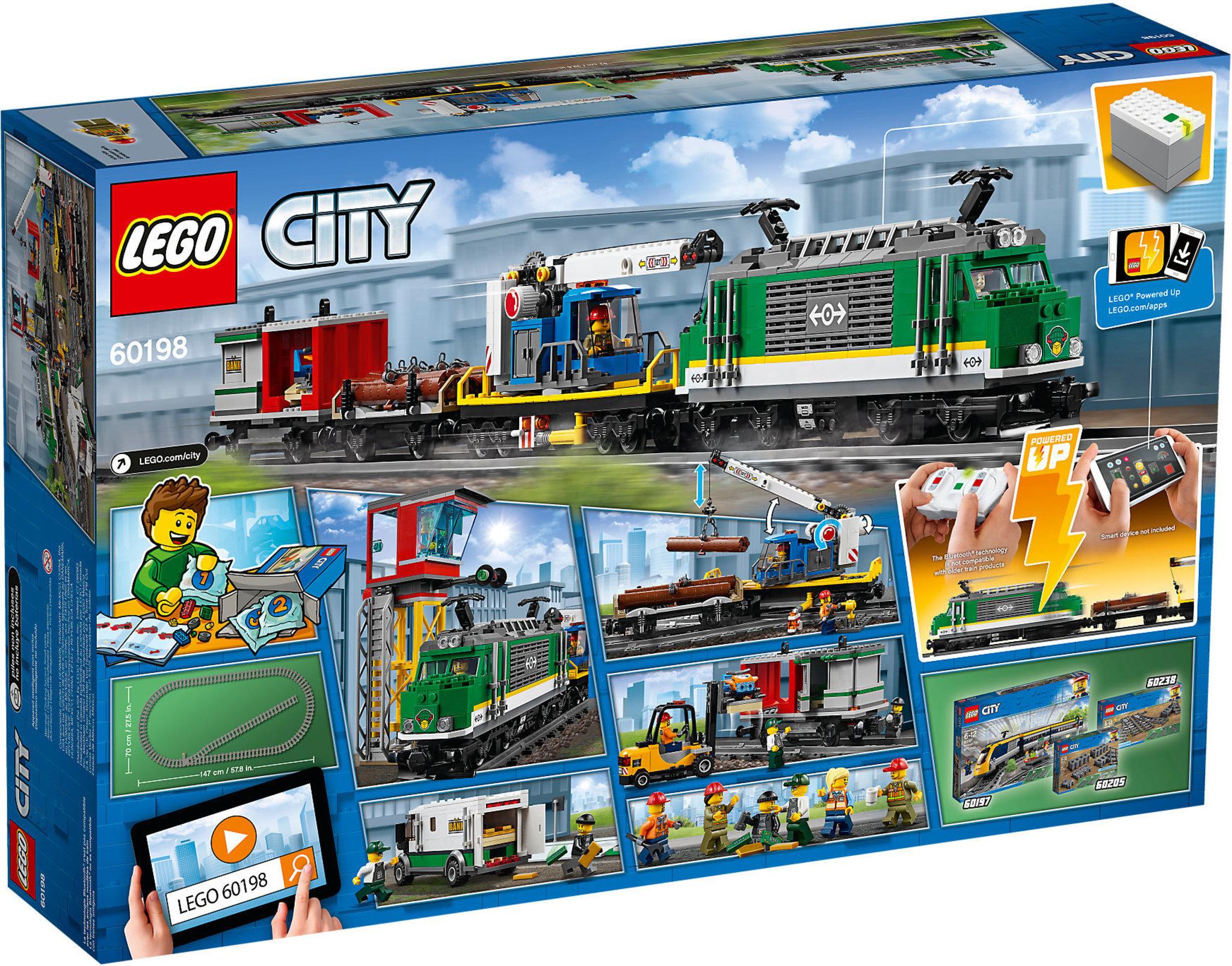 Lego City 60198 Cargo Train Mattonito