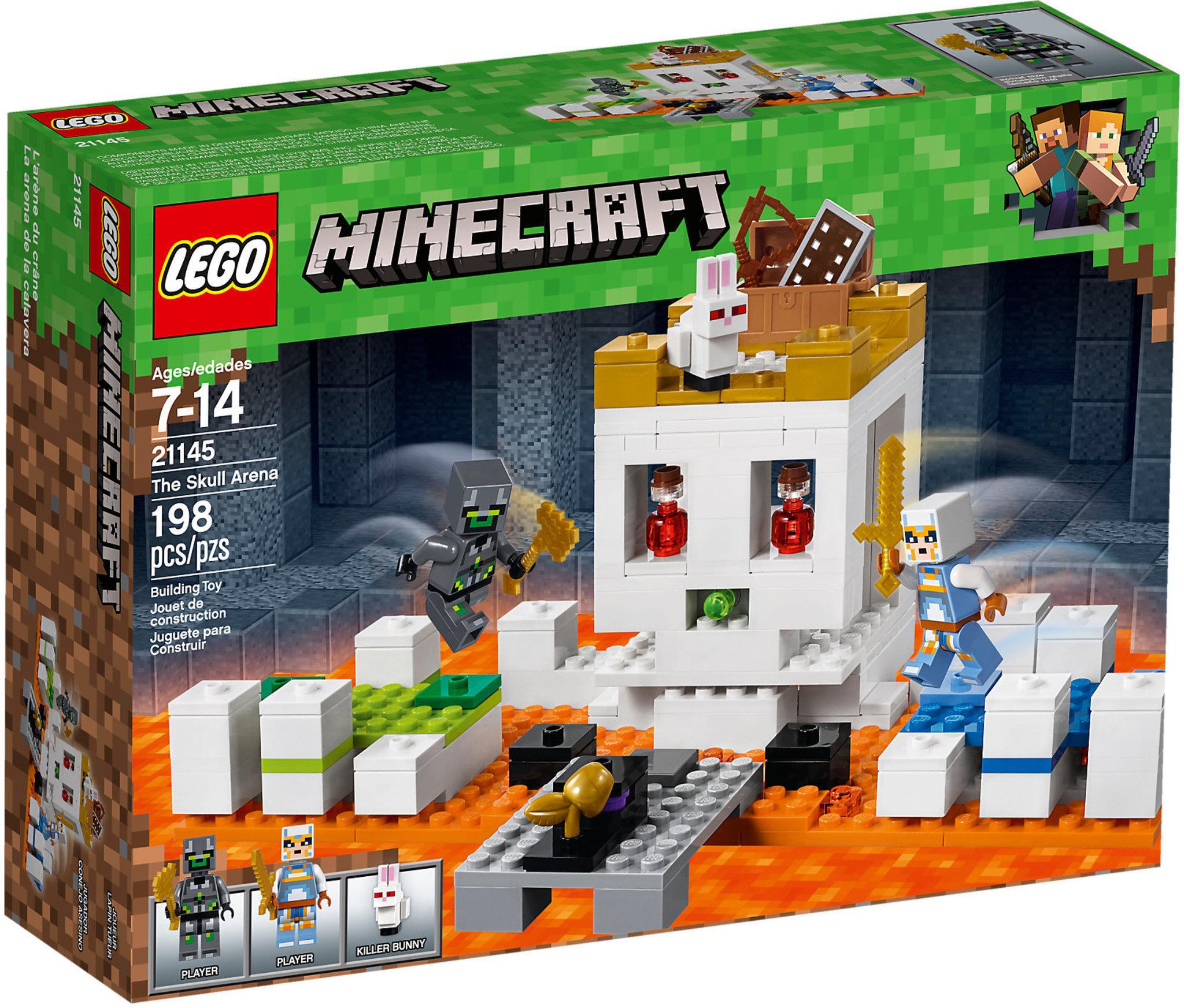 Immagini Di Teschio Pirati lego minecraft 21145 - l'arena del teschio