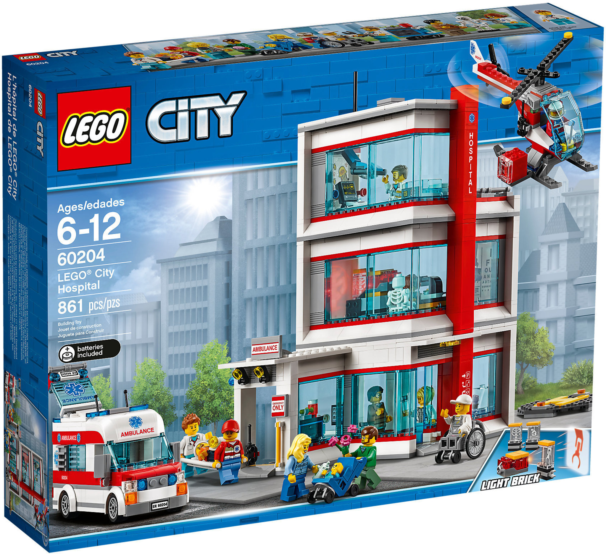 thoughts on 100% high quality sells LEGO City 60204 - Ospedale di LEGO City