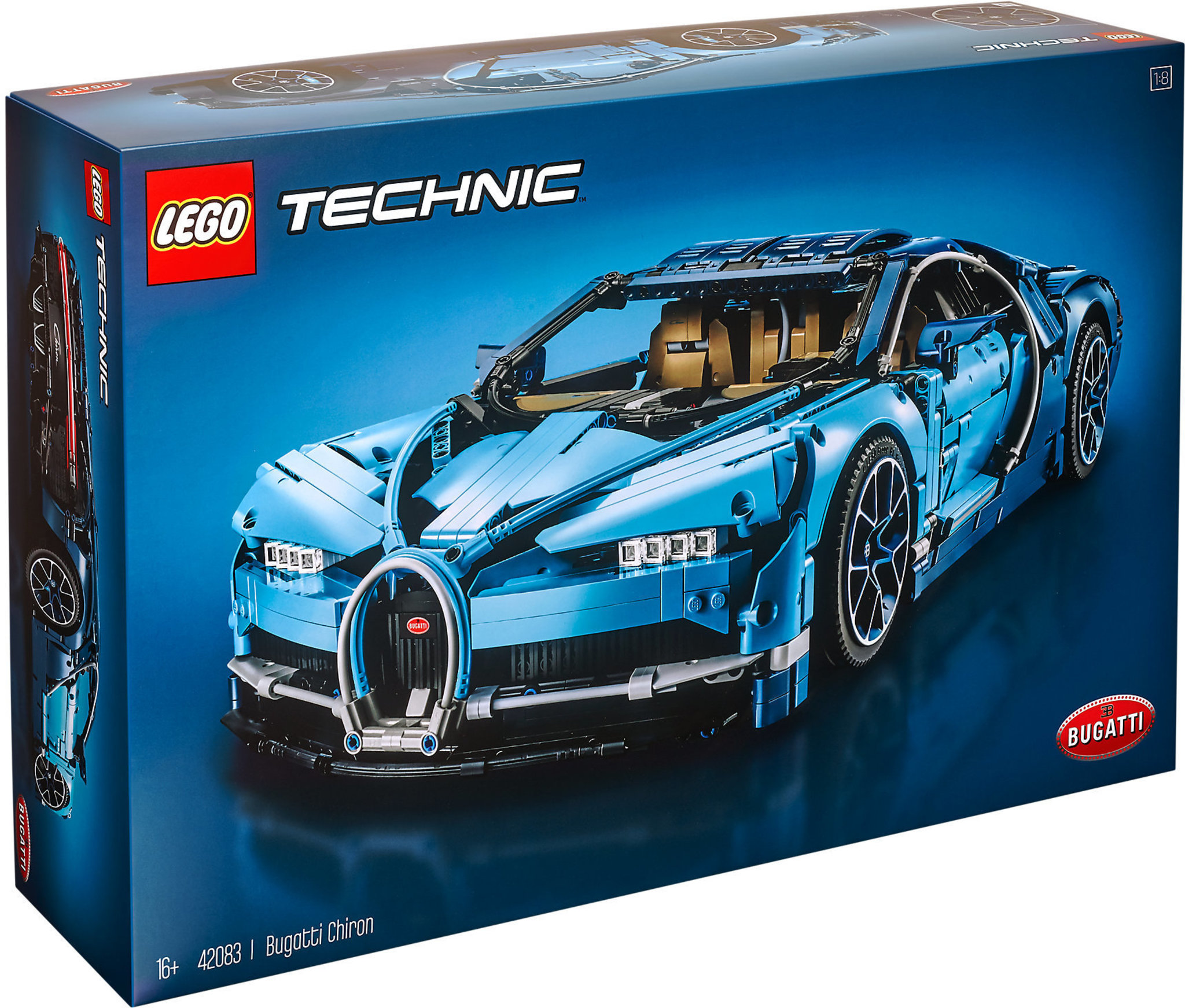 stable quality crazy price super cheap LEGO Technic 42083 - Bugatti Chiron