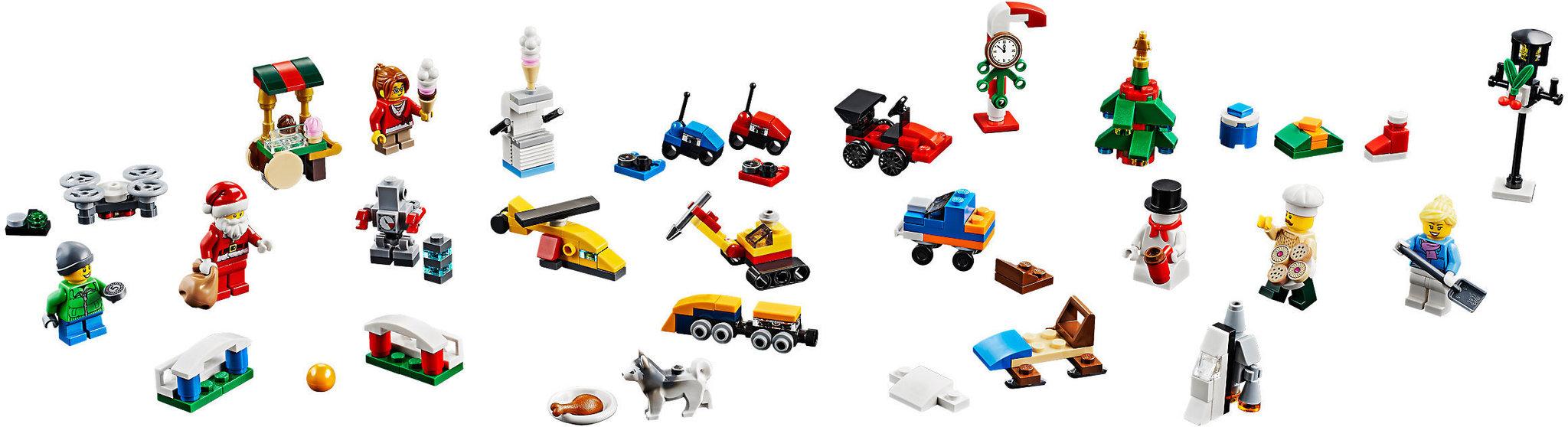 Calendrier Lego City.Lego City 60201 Le Calendrier De L Avent Lego City