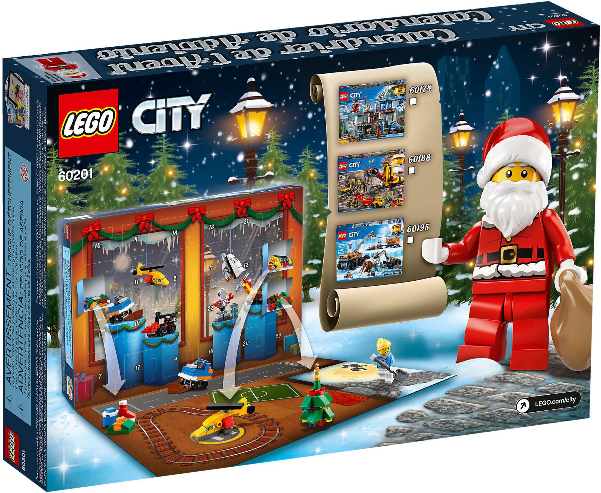 LEGO City 60201 - Calendario Dell'avvento Lego® City ...
