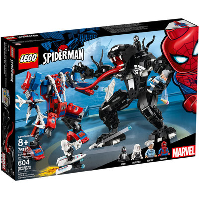 Mech Di Spider Man Vs. Venom