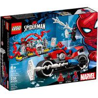 Le Sauvetage En Moto De Spider Man