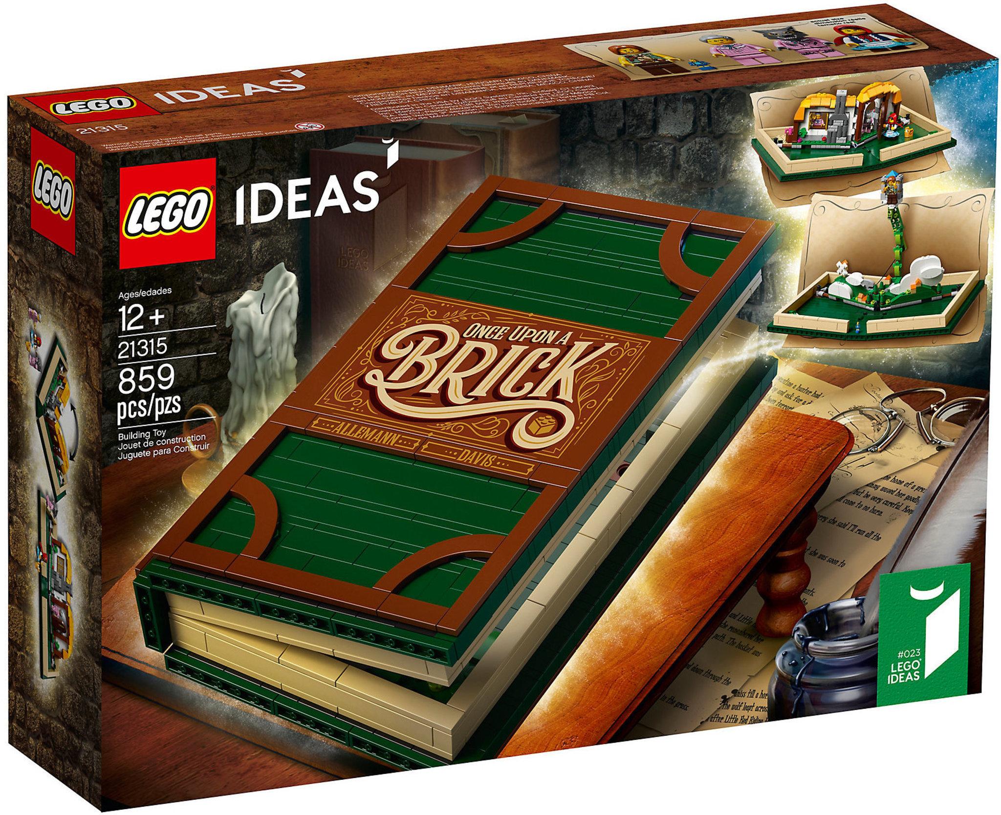 Lego Ideas 21315 Pop Up Book Mattonito