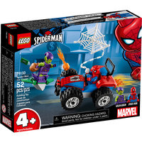 Spider Man Et La Course Poursuite En Voiture