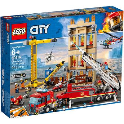 Les Pompiers Du Centre Ville