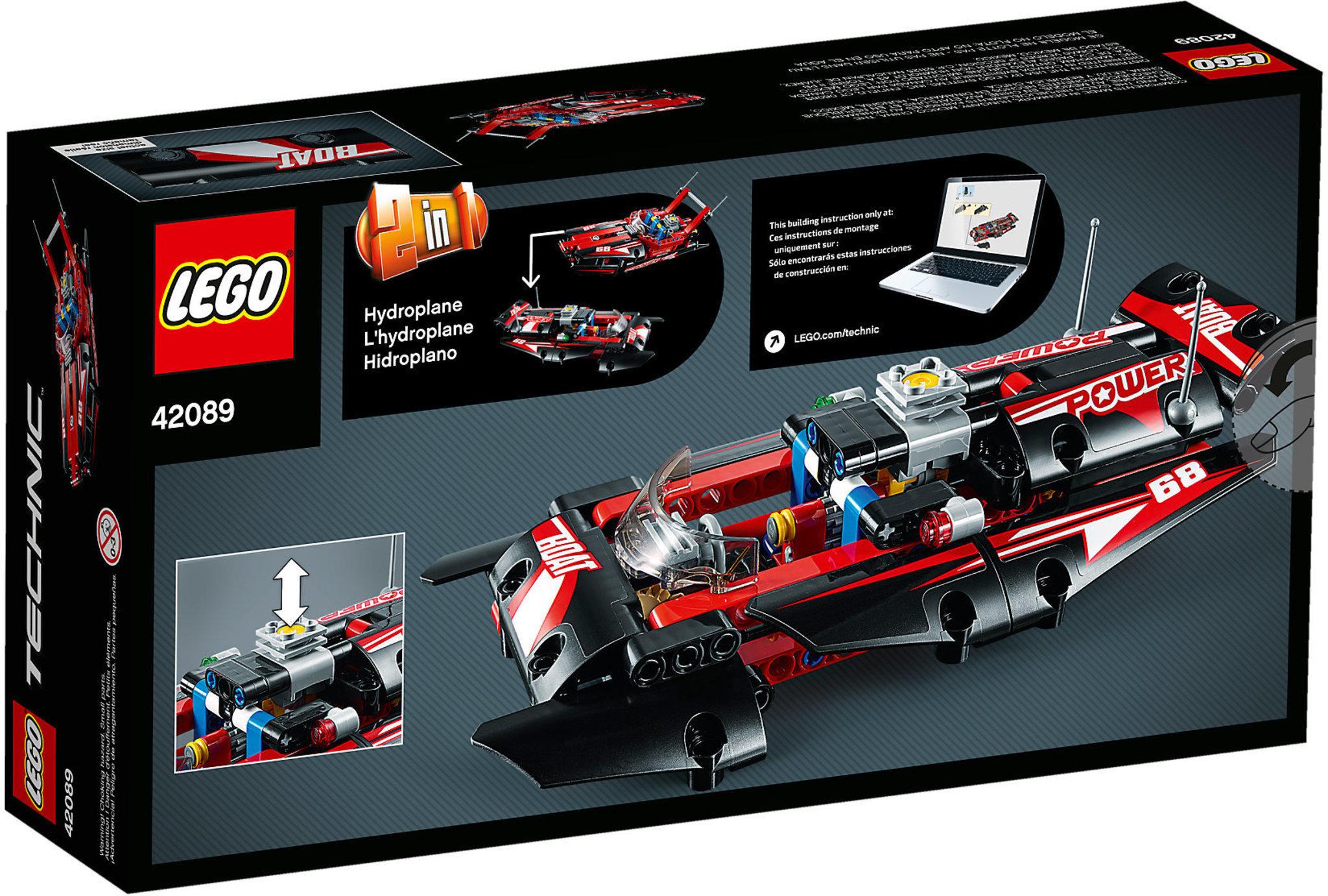 Lego Technic 42089 Power Boat Mattonito