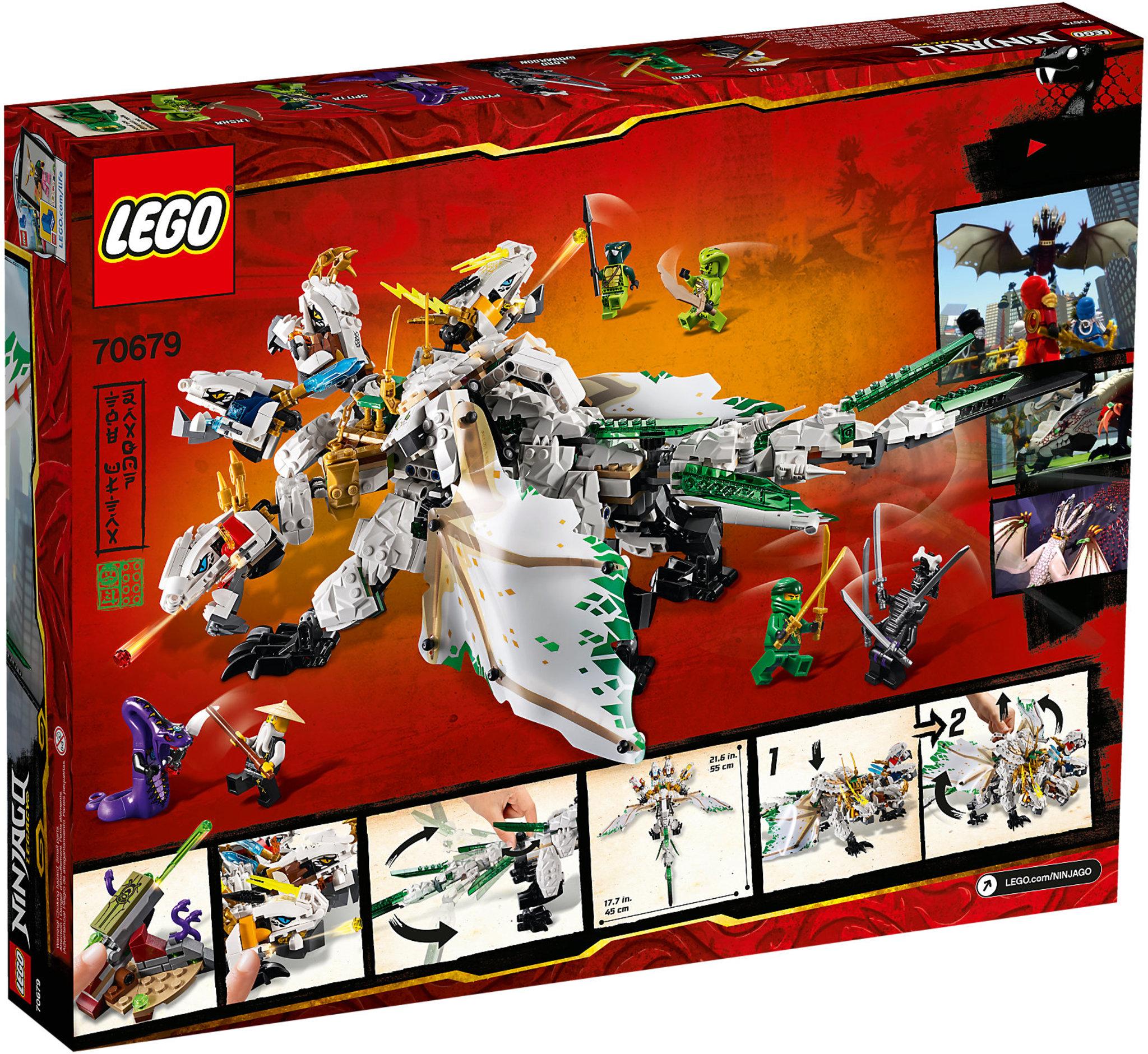 LEGO Ninjago 70679 - The Ultra Dragon | Mattonito