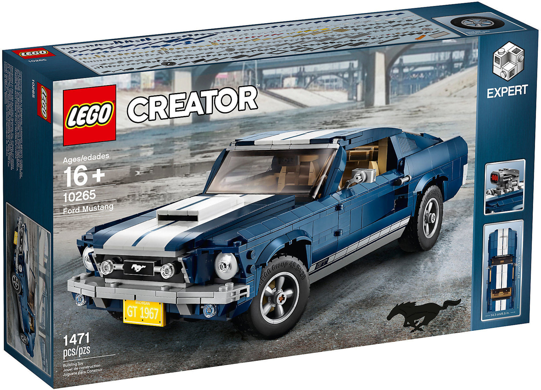 multiple colors online for sale buying cheap LEGO Creator 10265 - Ford Mustang
