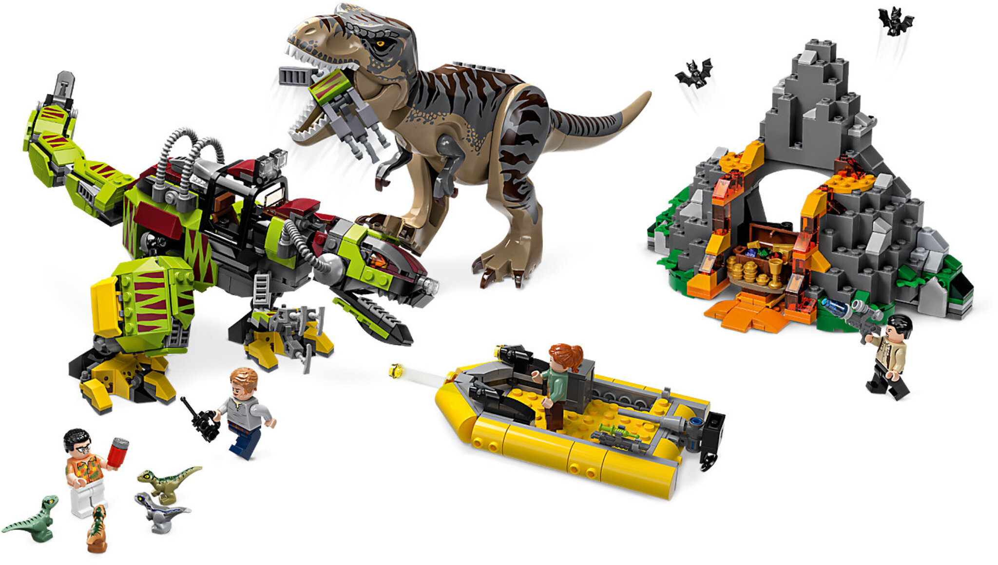 LEGO Jurassic World 75938 - T  Rex Vs Dino Mech Battle