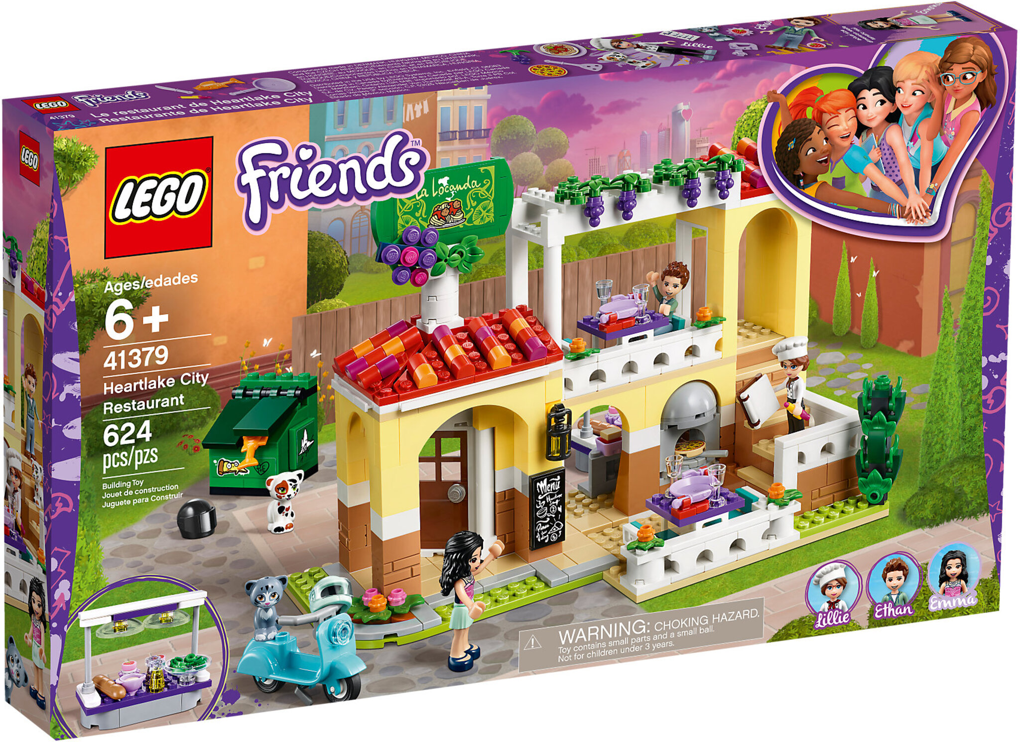 City Lego Heartlake Friends Restaurant 41379 jSUGLqzMpV