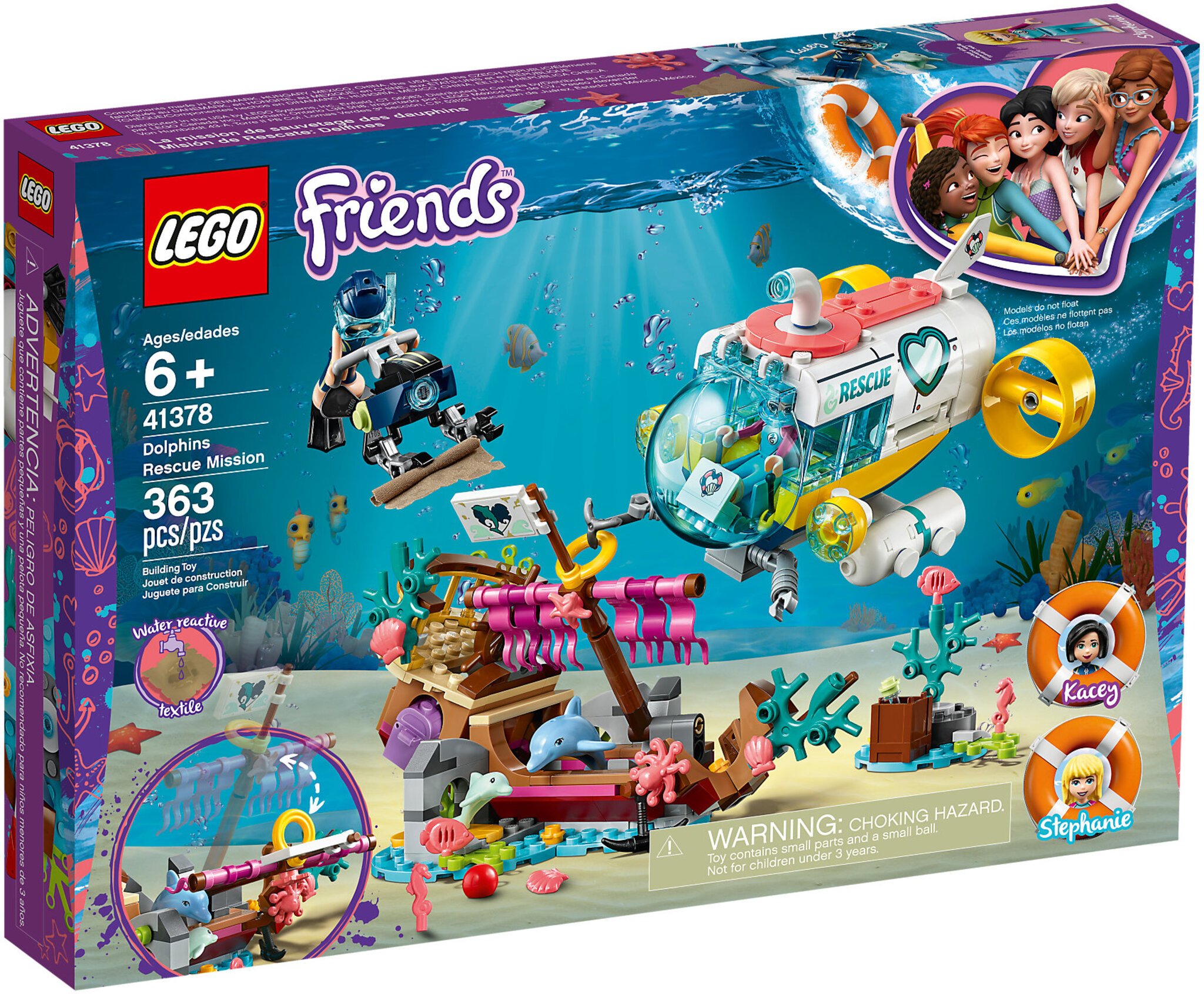Mission Lego Dolphins Rescue Friends 41378 35ALRj4