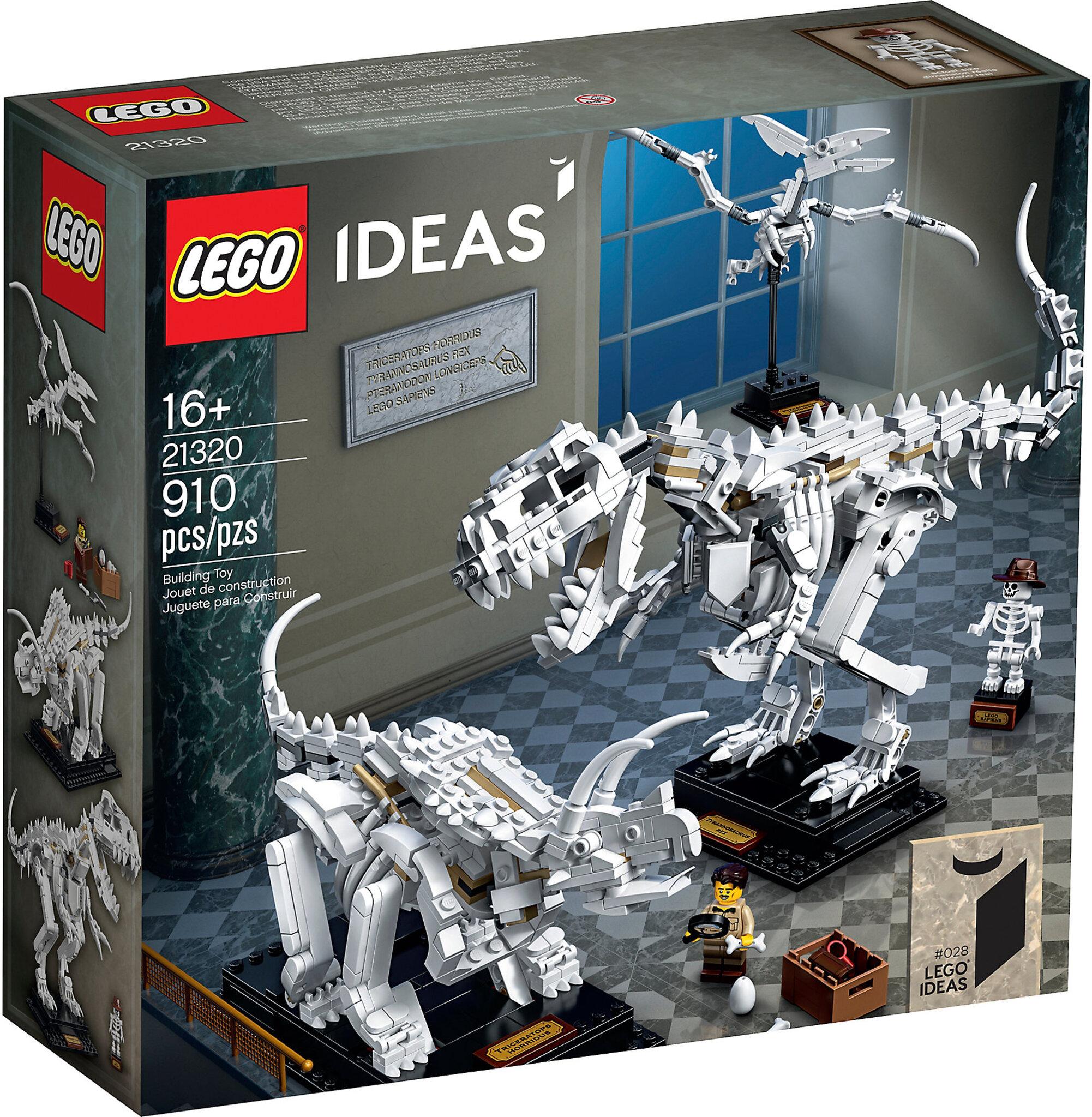 comprare reale pregevole fattura buona vendita LEGO Ideas 21320 - Fossili di Dinosauro   Mattonito