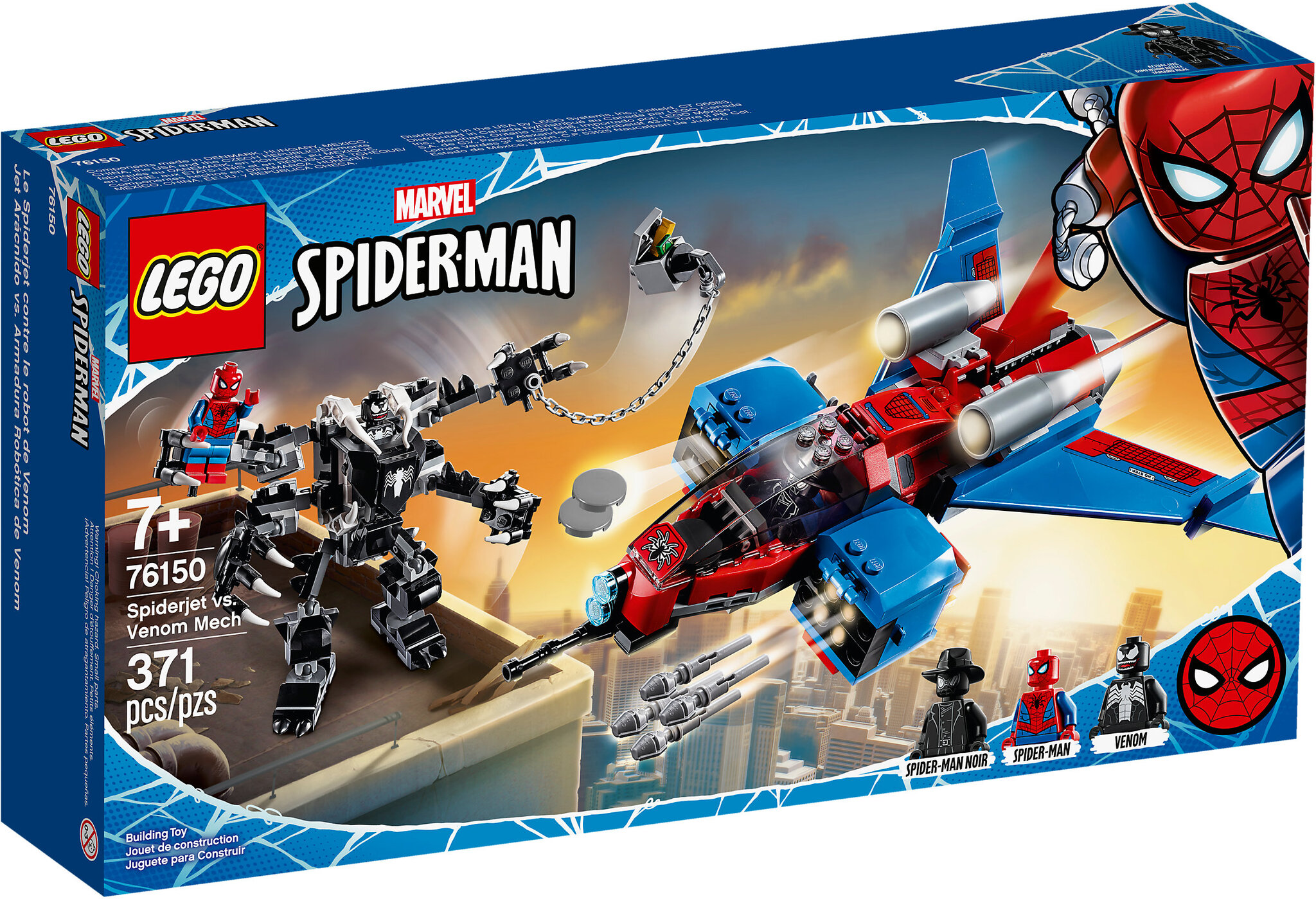 Картинки наборов лего человека паука
