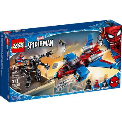 Spiderjet Vs. Mech Venom