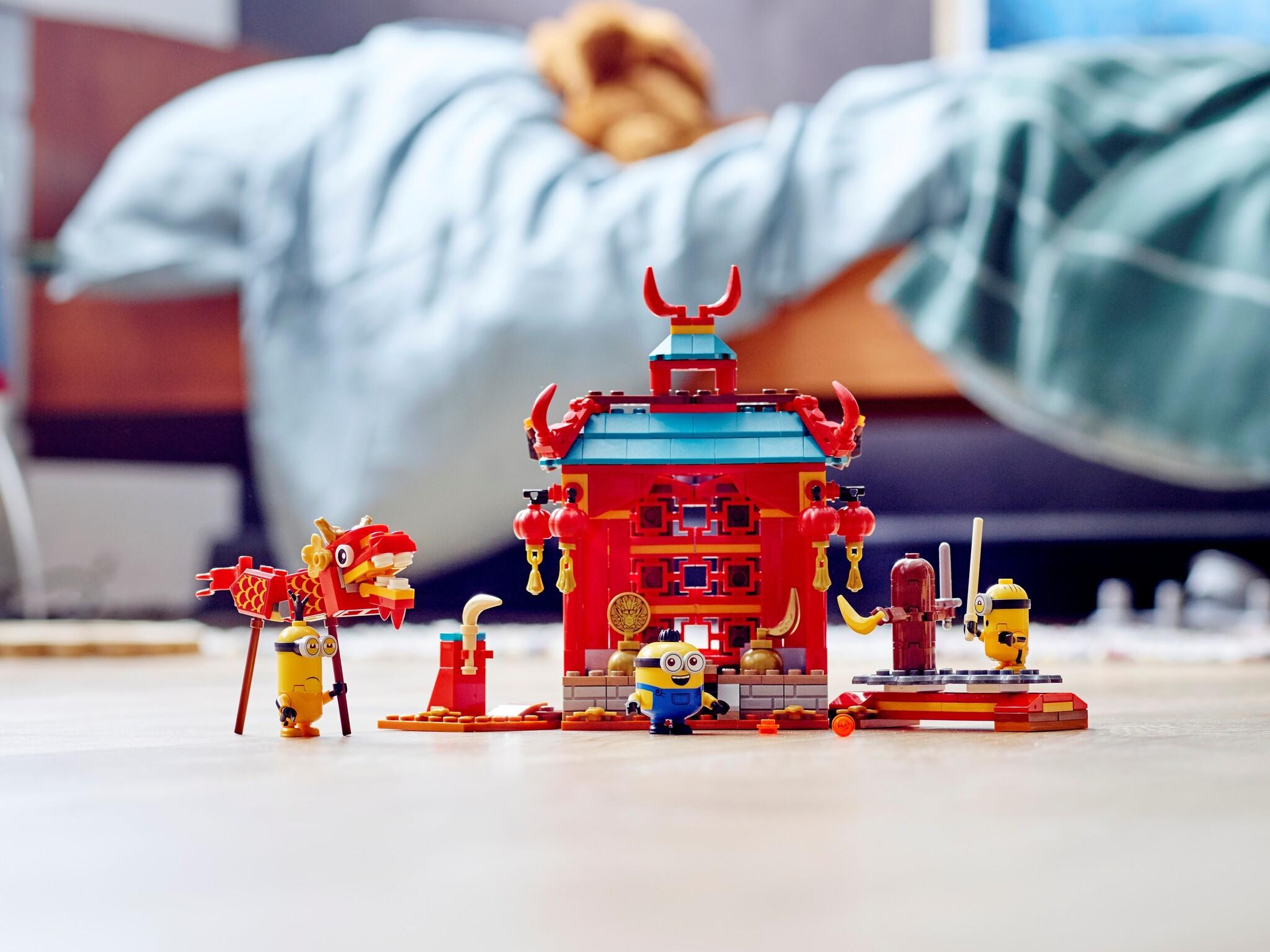 LEGO Minions 75550 - Minions Kung Fu Battle | Mattonito