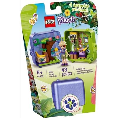 Le Cube De Jeu De La Jungle De Mia