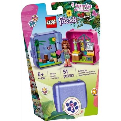 Le Cube De Jeu De La Jungle D